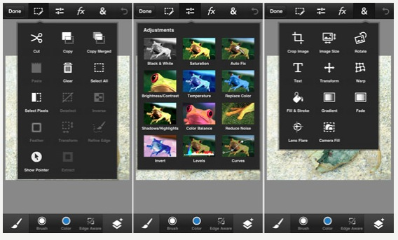 photoshop touch examples