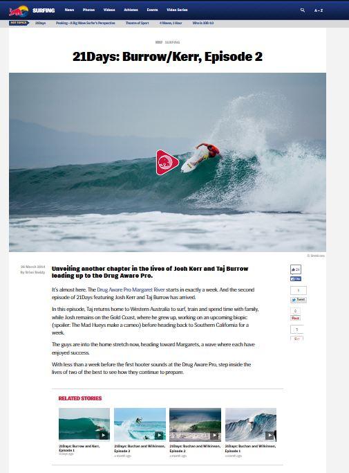 redbull surfing